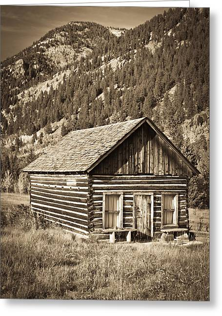 Ashcroft Ghost Town Greeting Card