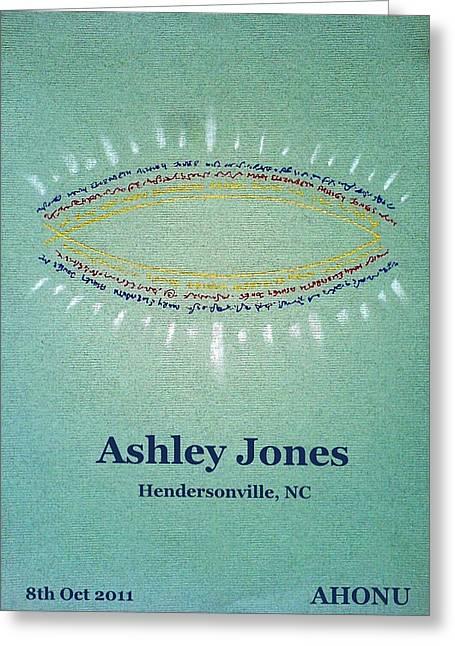 Ashley Jones Greeting Card