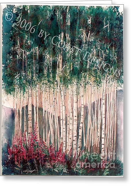 Aspen Grove Greeting Card