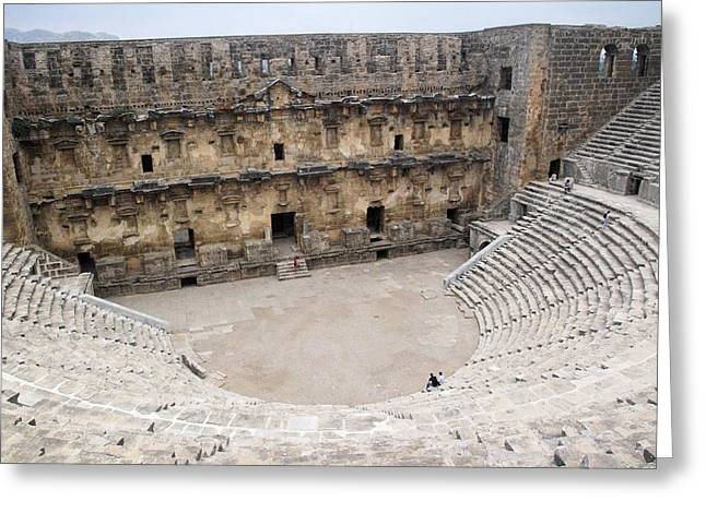 Aspendos Roman Theatre Greeting Card by