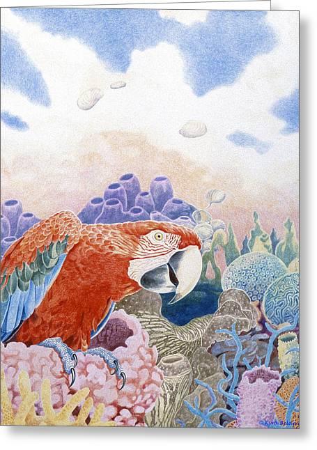 Astarte's Paradise Seven Greeting Card