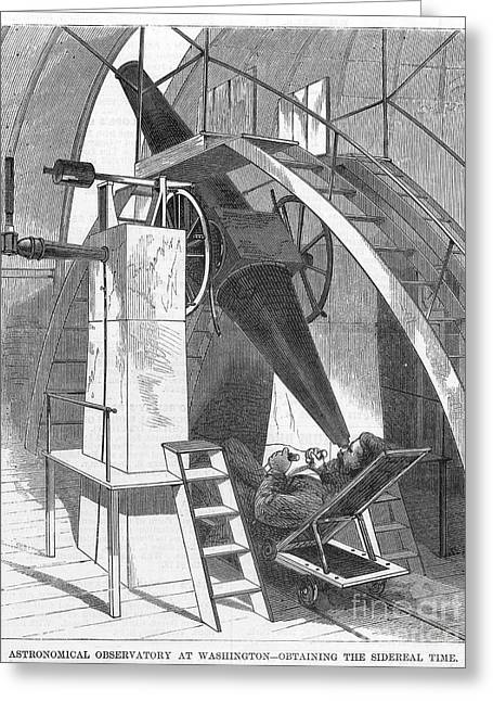 Astronomer, 1869 Greeting Card by Granger