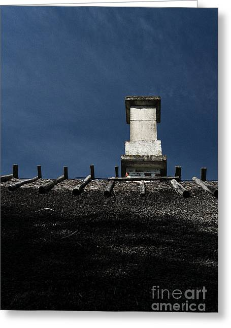 At Chimney Height Greeting Card by Agnieszka Kubica
