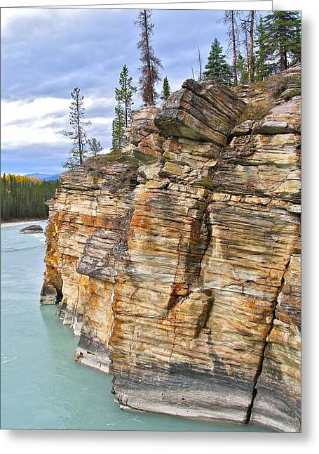 Greeting Card featuring the photograph Athabasca River by Brian Sereda