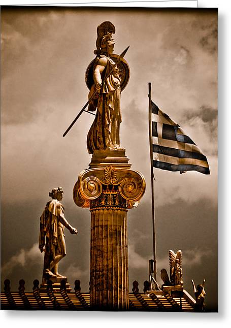 Athens, Greece - Athena Nike Greeting Card
