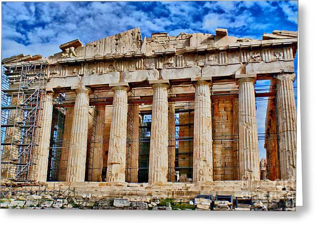 Athens - Parthenon Greeting Card