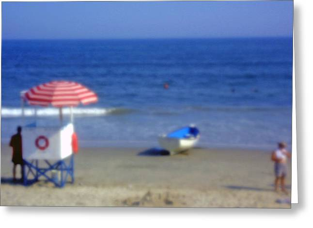Atlantic City Lifeguard Station Greeting Card