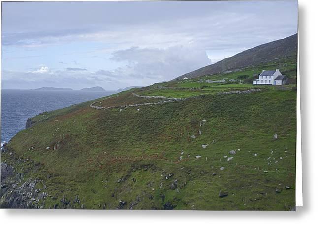 Greeting Card featuring the photograph Atlantic Coast Ireland by Hugh Smith