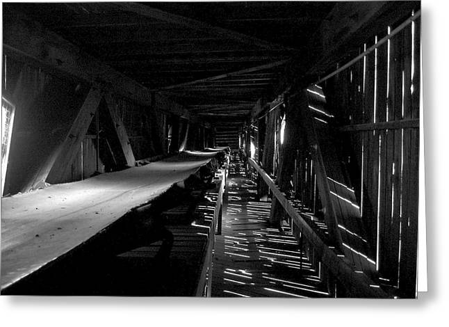 Greeting Card featuring the photograph Atlas Coal Mine2 by Brian Sereda