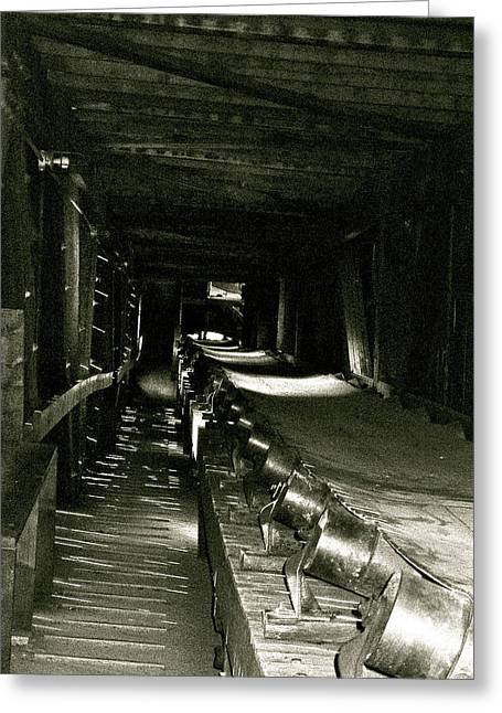 Greeting Card featuring the photograph Atlas Coalmine by Brian Sereda