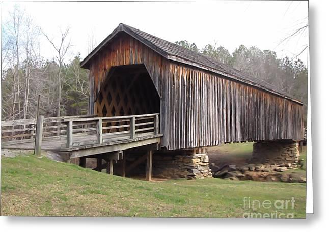 Auchumpkee Creek Bridge Greeting Card