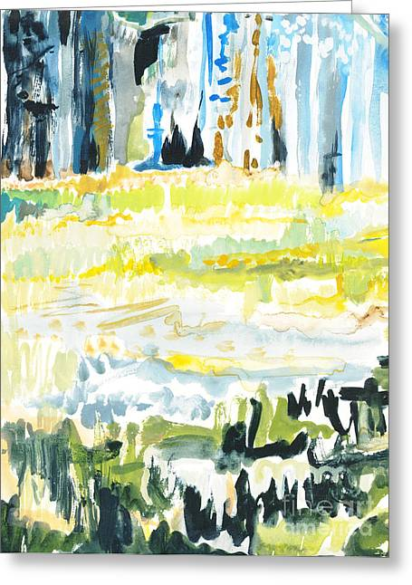 Audobon II Greeting Card by Vannucci Fine Art