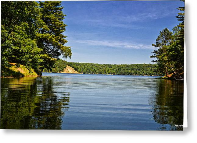 Ausable River In June Greeting Card