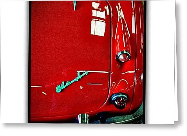 Austin Healy 3000 Greeting Card by Paul Cutright
