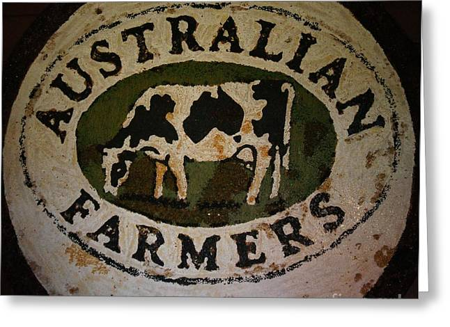 Australian Farmers Greeting Card