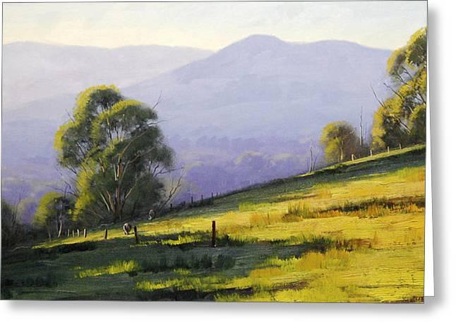 Australian Landscape Greeting Card by Graham Gercken