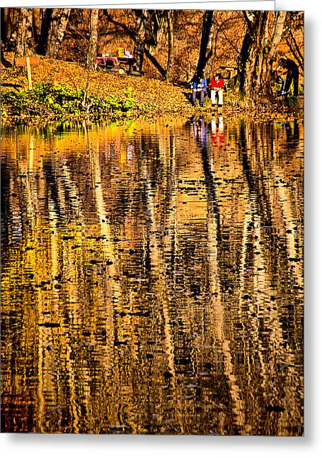Greeting Card featuring the photograph Autumn - 2 by Okan YILMAZ