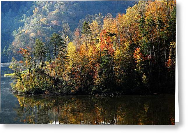 Autumn At Jenny Wiley Greeting Card