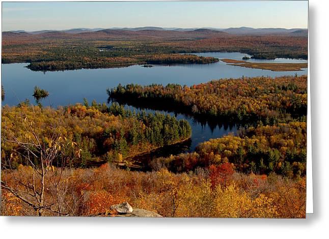 Autumn At Low's Lake Greeting Card