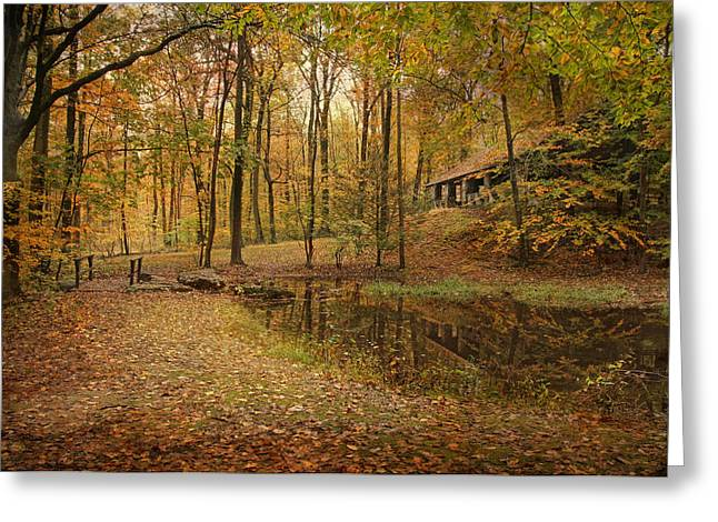 Autumn At Voorhees Greeting Card