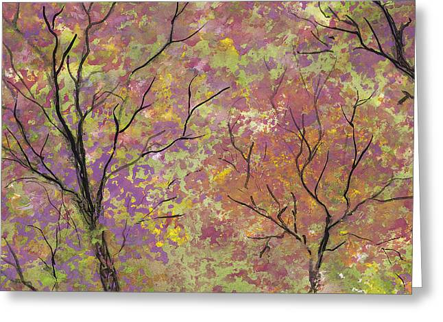 Autumn Blush Greeting Card