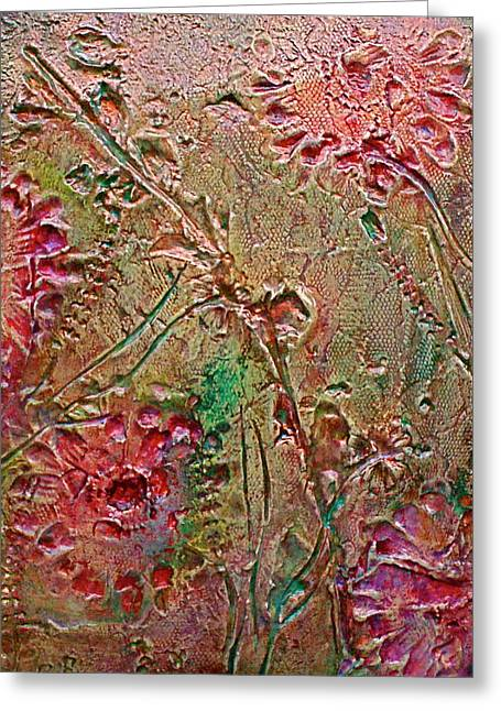 Greeting Card featuring the painting Autumn Daze by D Renee Wilson