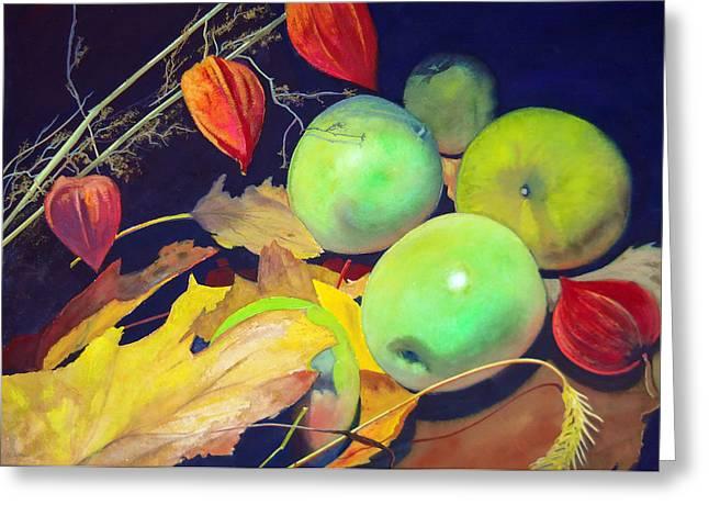 Autumn Earth Greeting Card