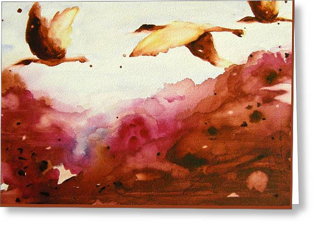 Autumn Flight Greeting Card