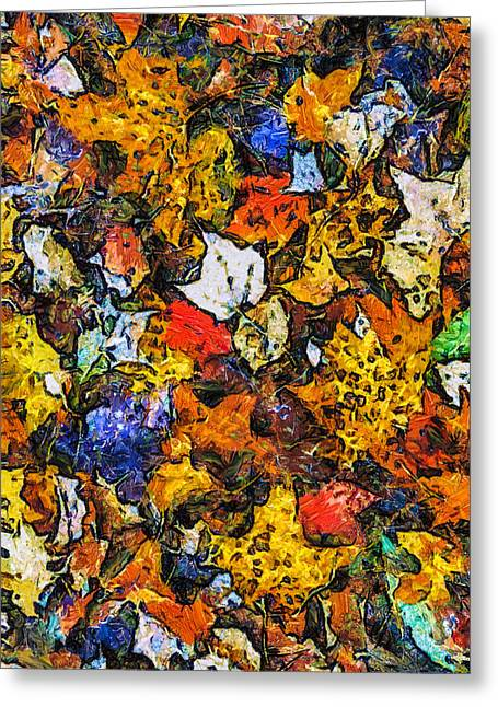 Autumn Floor Greeting Card