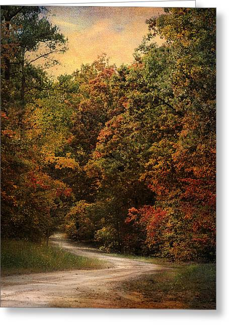 Autumn Forest 1 Greeting Card by Jai Johnson