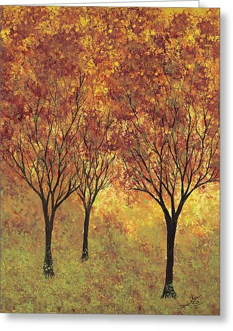 Autumn Glow Greeting Card