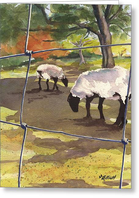 Autumn Graze Greeting Card