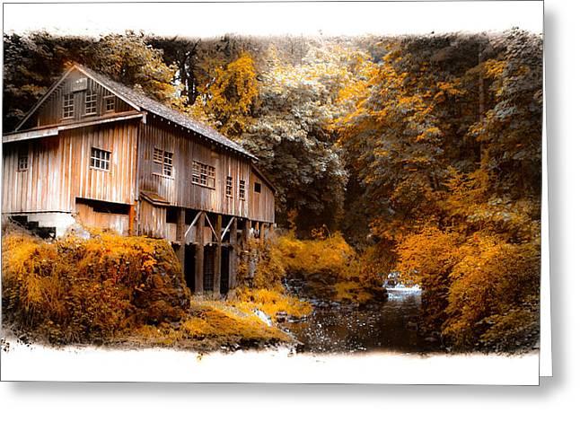 Autumn Grist Greeting Card by Steve McKinzie