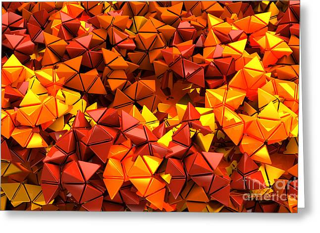 Autumn Hedron 2436 Greeting Card