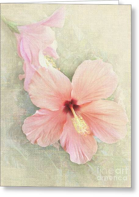 Autumn Hibiscus Greeting Card