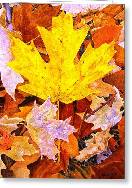 Autumn IIi Greeting Card by Debra Spinks