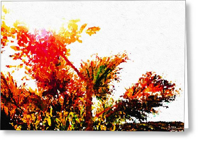 Autumn Impression Greeting Card by Brian D Meredith