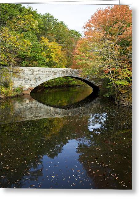 Autumn In Blackstone Valley Greeting Card