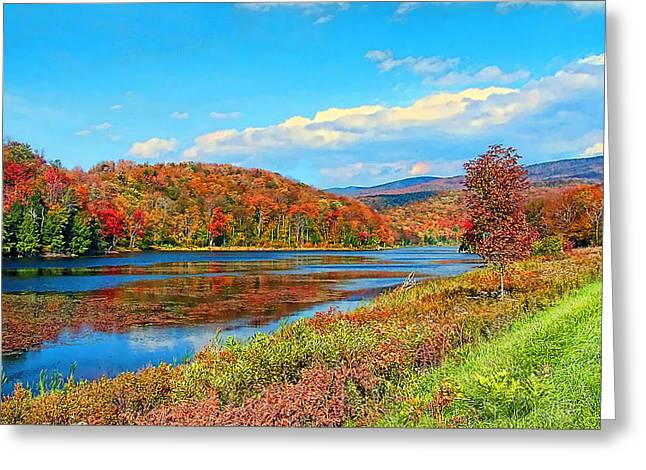 Autumn Invermont Greeting Card