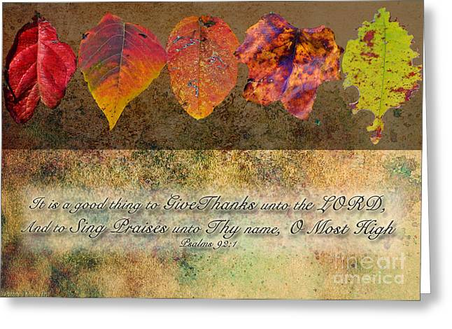 Autumn Leaves Greeting Card II Greeting Card