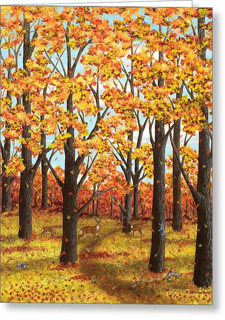 Autumn Meadow Greeting Card