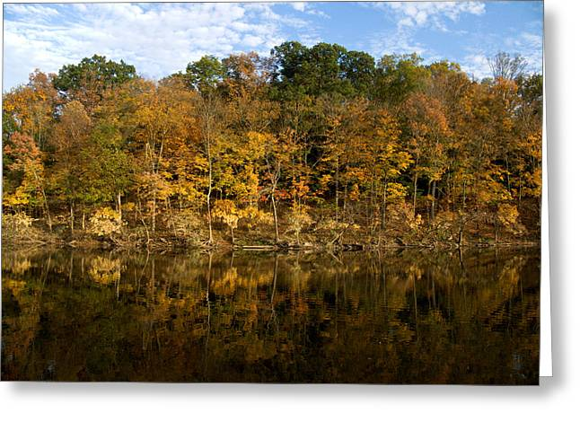 Autumn Mirror Greeting Card