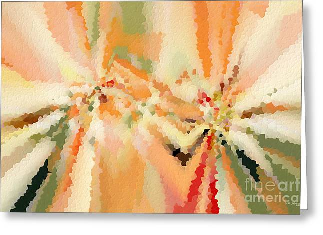 Autumn Mosaic Greeting Card by Mark Lawrence