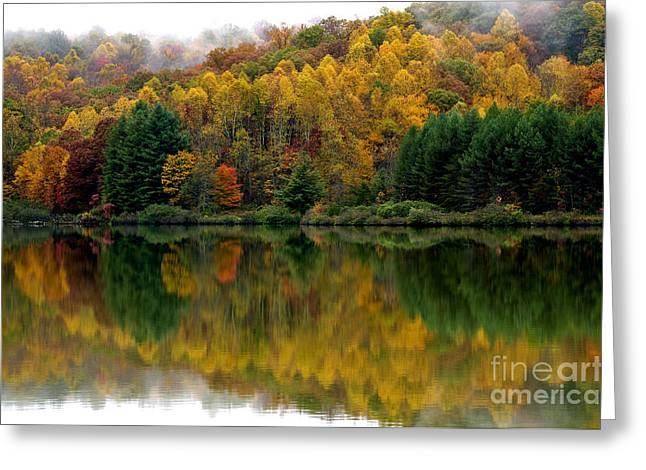 Autumn On Big Ditch Lake Greeting Card