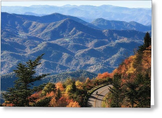 Autumn On The Blue Ridge Parkway Greeting Card by Lynne Jenkins