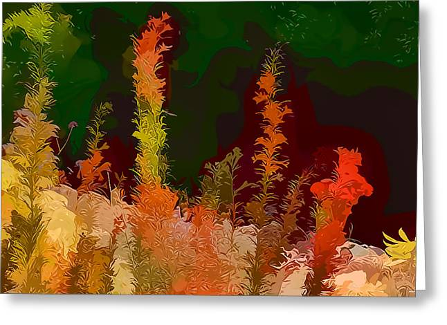 Autumn Pastel Greeting Card by Tom Prendergast