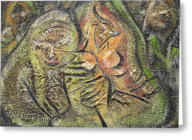 Autumn Greeting Card by Rajesh Chopra
