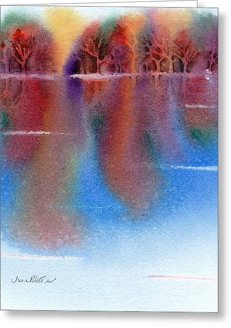 Autumn Reflections No. 6 Greeting Card