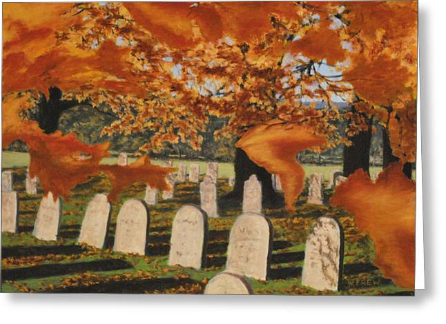 Autumn Serenity Greeting Card