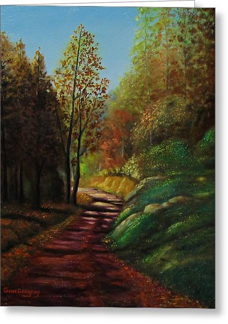 Autumn Trail Greeting Card